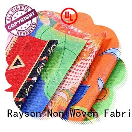 woven print feeling 50m Warranty Rayson Non Woven Fabric