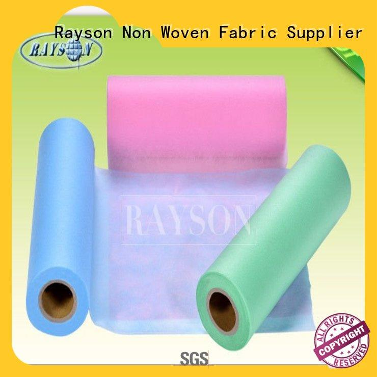 bedsheet manufacturer for hospital Rayson Non Woven Fabric