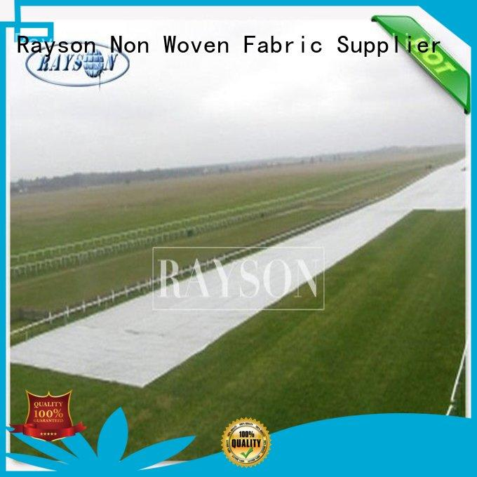 Rayson Non Woven Fabric anti uv mesh landscape tarps supplier for seed blankets