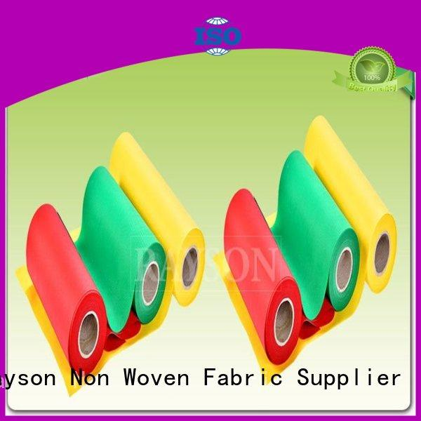Quality Rayson Non Woven Fabric Brand flame pp spunbond nonwoven fabric