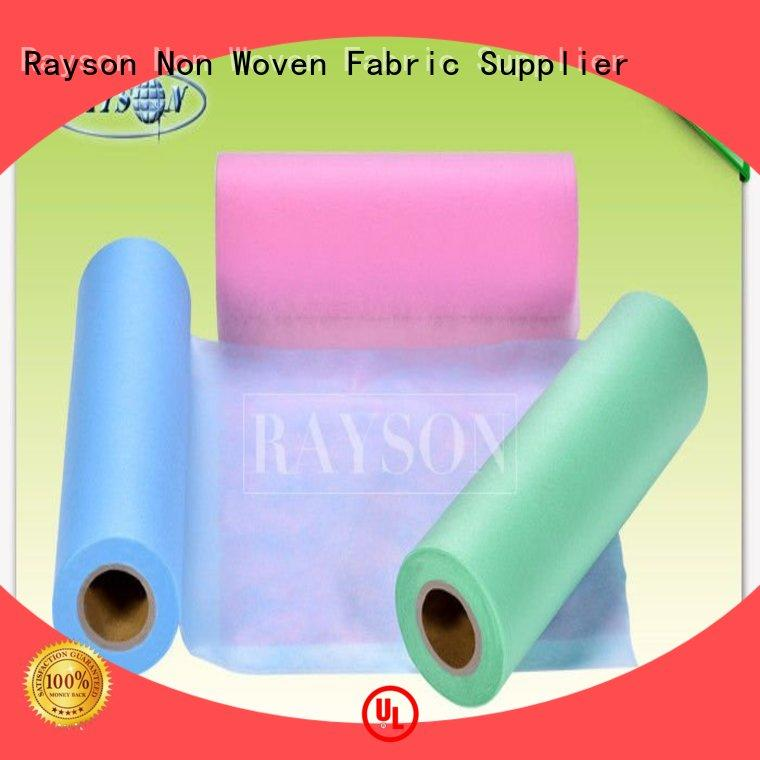 Rayson Non Woven Fabric High-quality dry laid nonwoven factory for hospital