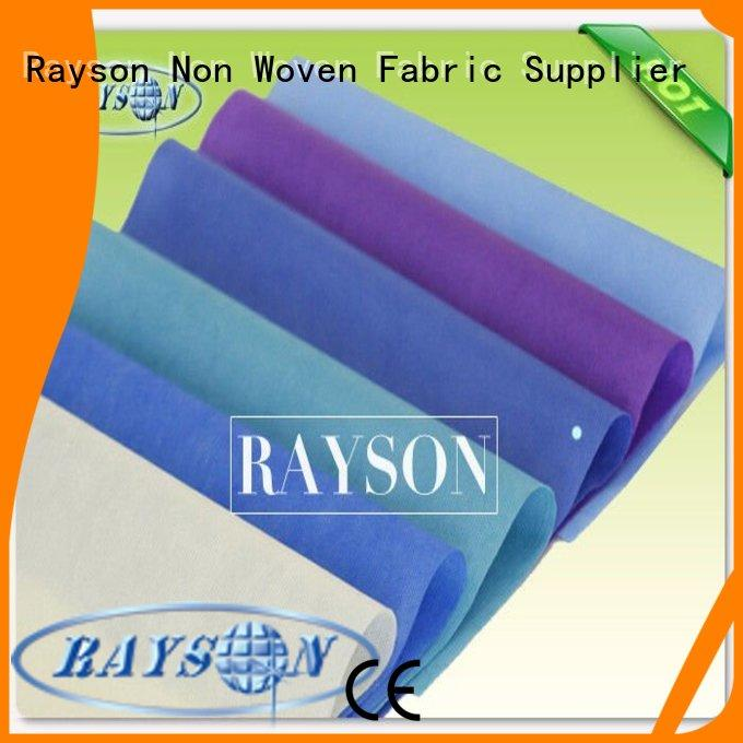Rayson Non Woven Fabric roll supplier for beauty salon use