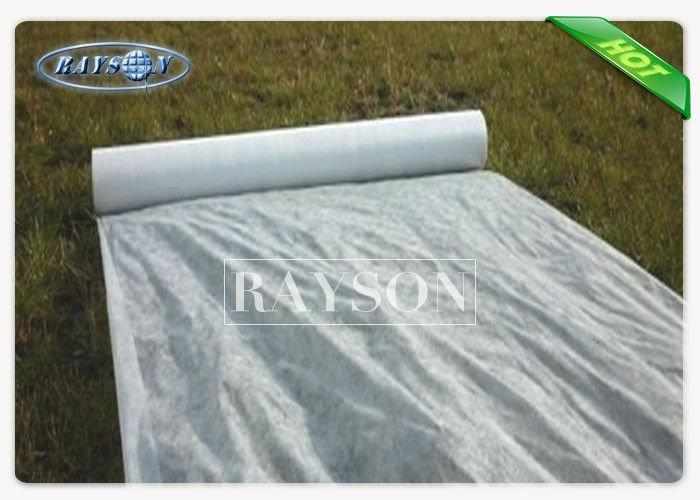 30gsm White Color 3% UV Protection PP Spunbond Nonwoven Fabric For Agriculture Used