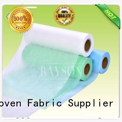 Rayson Non Woven Fabric brand needle punch nonwoven Suppliers for doctor