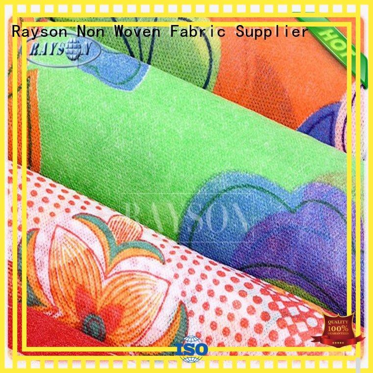 cap function Rayson Non Woven Fabric Brand woven vs nonwoven fabric factory