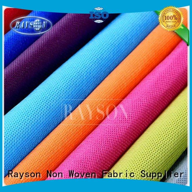 Rayson Non Woven Fabric Best is non woven fabric biodegradable manufacturers for sofa upholstery