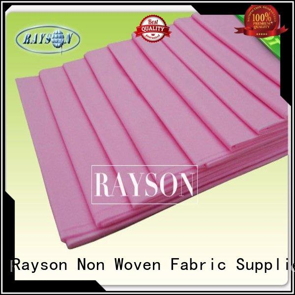 Rayson Non Woven Fabric High-quality one time use bed sheets Supply for beauty salon use