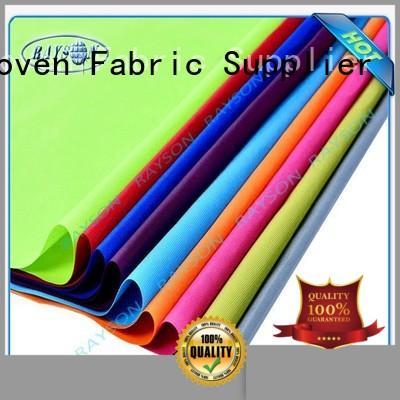 Wholesale man woven vs nonwoven fabric uv Rayson Non Woven Fabric Brand
