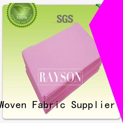 Wholesale 60gram spunbond non woven fabric manufacturer Rayson Non Woven Fabric Brand