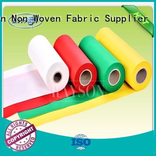 Wholesale gram woven vs nonwoven fabric Rayson Non Woven Fabric Brand