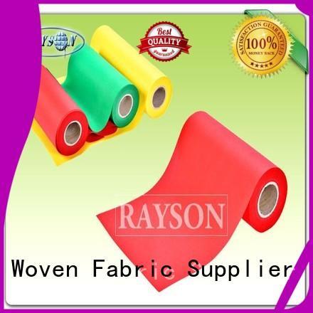 Wholesale pest woven vs nonwoven fabric 150g Rayson Non Woven Fabric Brand