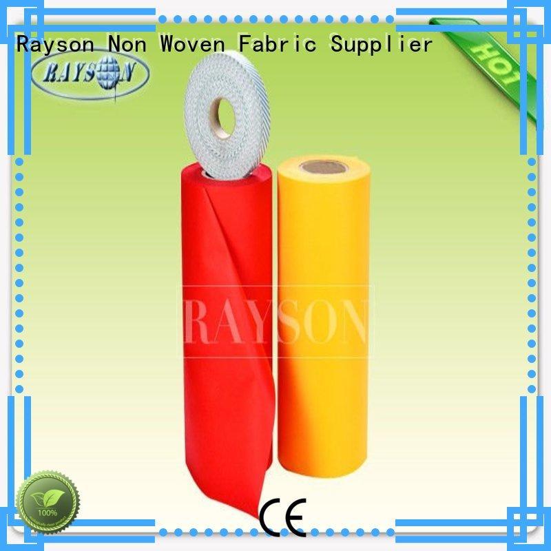 woven vs nonwoven fabric roll different Rayson Non Woven Fabric Brand company