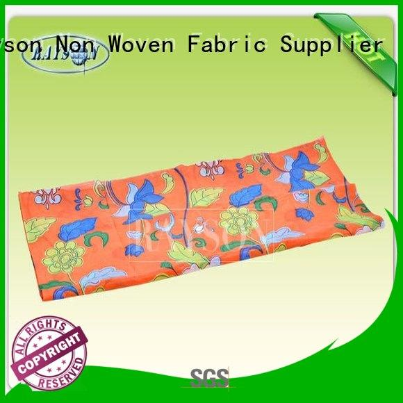 Rayson Non Woven Fabric Brand horticulture coated spunbond non woven fabric manufacturer