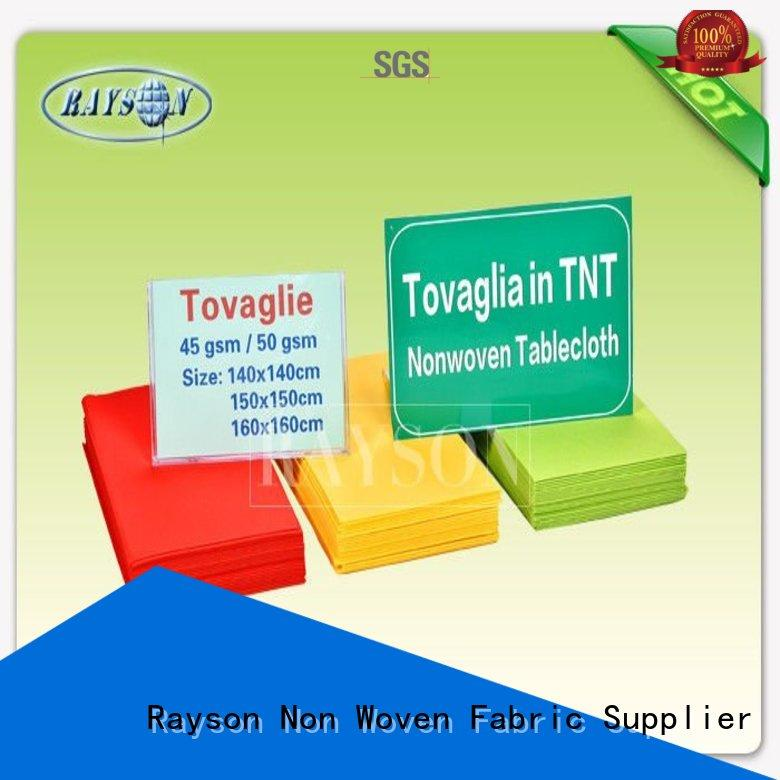 Rayson Non Woven Fabric biodegradable manufacturer for hotel