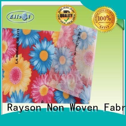 certificate fabrics pp spunbond nonwoven fabric 17gsm Rayson Non Woven Fabric