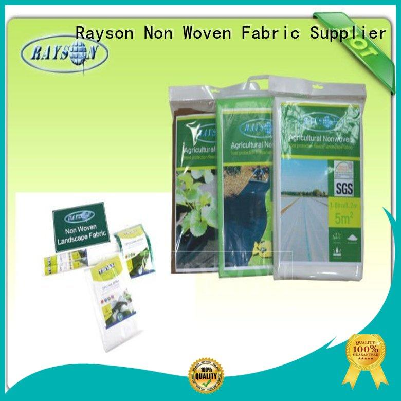 Rayson Non Woven Fabric frost non woven landscape fabric series for seed blankets