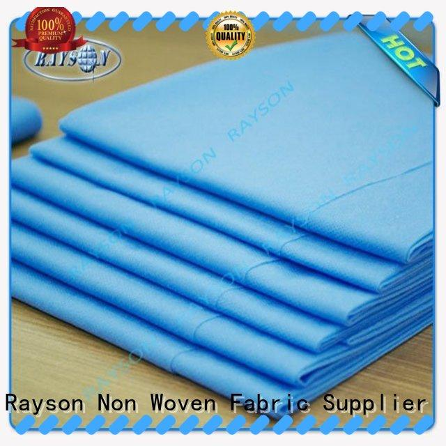 Rayson Non Woven Fabric high quality series for beauty salon use