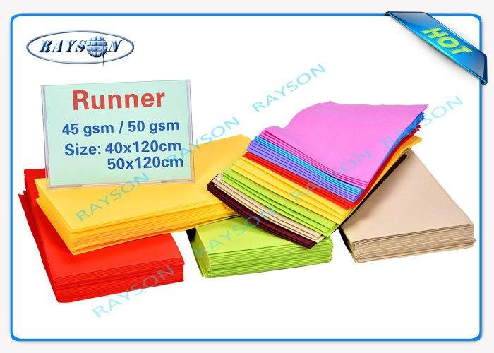 Full Color Range 100% PP Raw Non Woven Sheet 40gr 45gr 50gr 60gr 70gr Gram