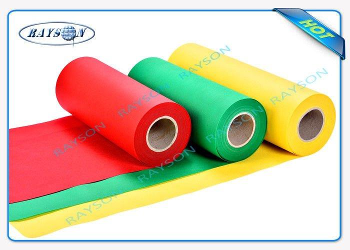100% Fresh Polypropylene Material Biodegradable Non Woven Fabric In Roll For Packing Bags