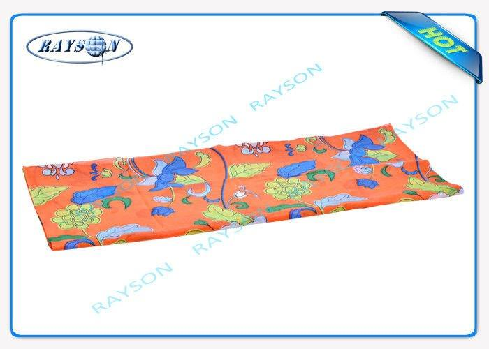 Different Design PPSB Printed Non Woven Fabric OEM  For Furniture / Packing