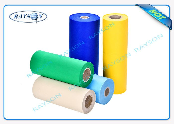 Rayson Non Woven Fabric Colorful / Useful Non Woven Polypropylene Fabric For Hygiene Products Hydrophilic Non Woven image4