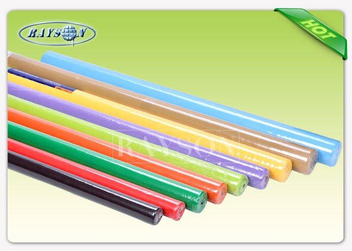 Shrink Film Packing Weeding Used WaterProof Non WovenTablecloth TNT Non Woven