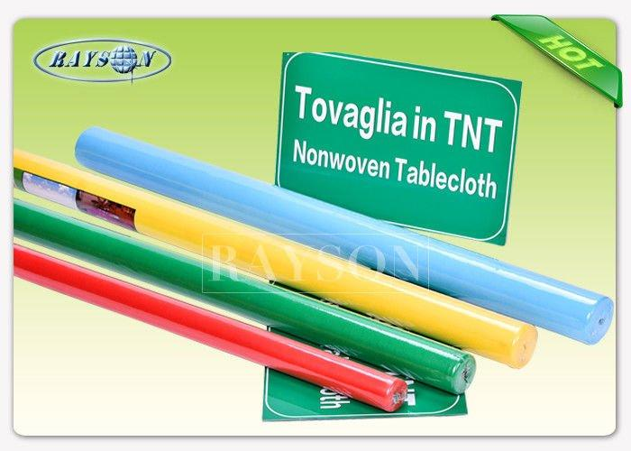 Small Roll Non Woven Tablecloth For Disposable Table Cloth 20CMX50M / 20M / 10M