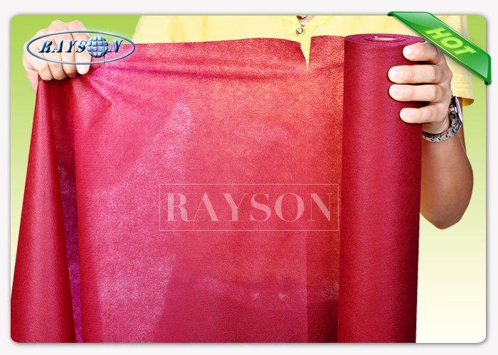 Diposable Printed Non Woven Tablecloth / TNT Table Runner 50cm Precut Disposable Table Cloths