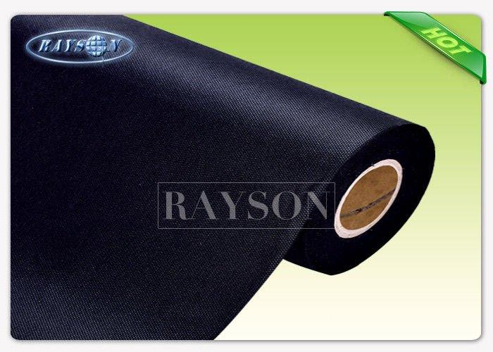 75gram Black / White Color PP Spunbond Non Woven Fabric for Packing Material