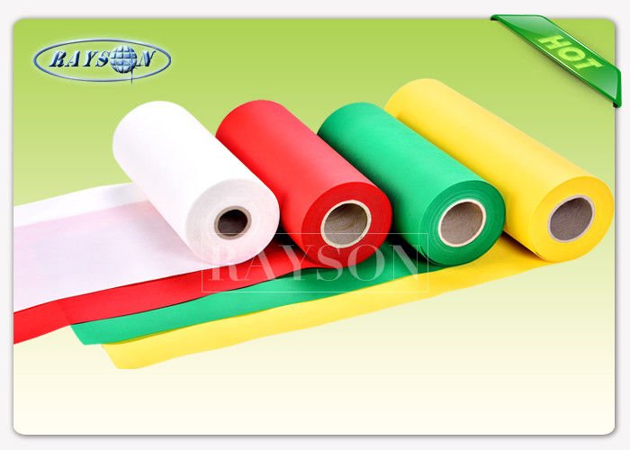 Comfortable Polypropylene Spunbond Non Woven Weed Mat Black Color SGS Approved