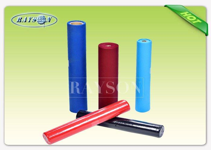 Shrink Film Packing Non Woven Tablecloth TNT Fabric Eco-Friendly Sesame Dot