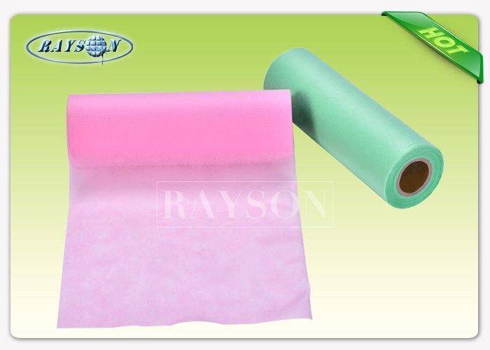 100% Polypropylene Raw  Medical Disposable Non Woven Fabric For Face Mask