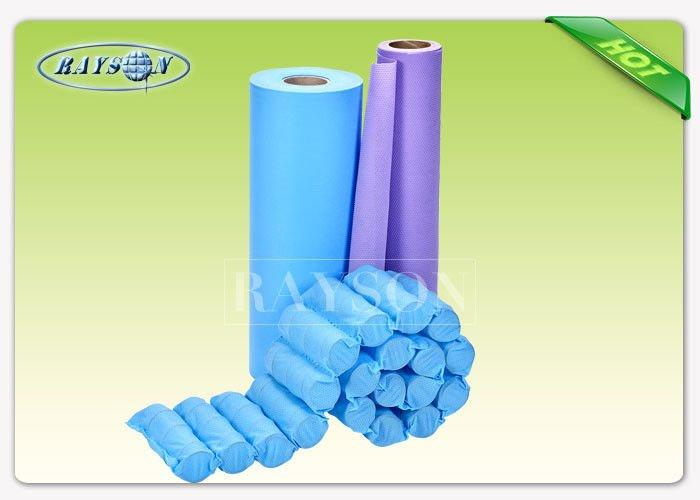 Breathable Polypropylene Spunbond Non Woven Fabric , Pocket Spring Cloth