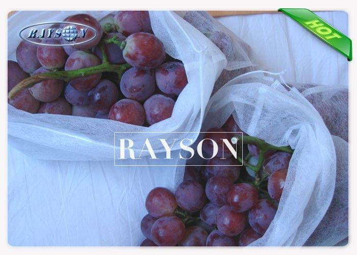 Disposable 60gsm White Fruit Protection Bag Heat Sealing or Sewing