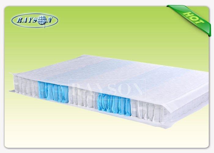Breathable Polypropylene Spunbond Non Woven Fabric , Pocket Spring Cloth