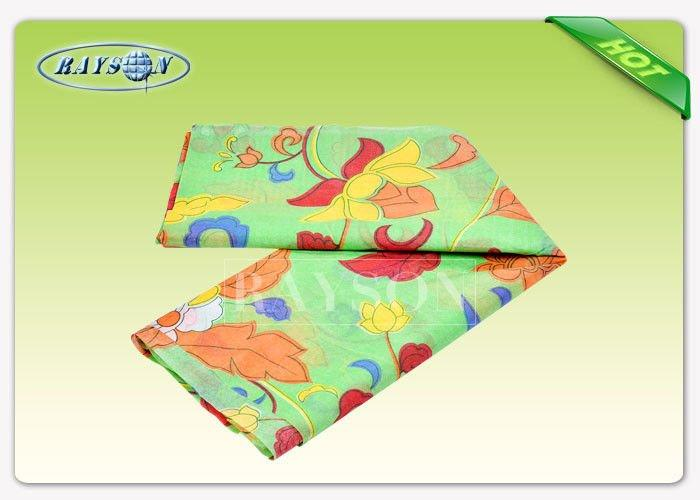 Full Color Printed Waterproof PP Spunbond Non woven Fabric For Bedding Cover