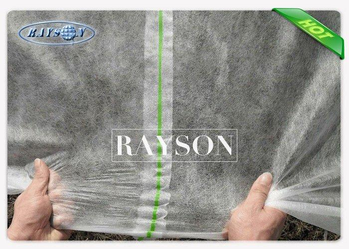 Breathable Spunbond Anit Frost Protection Fleece Frost Cover Non Woven Fabric Width 25.6m