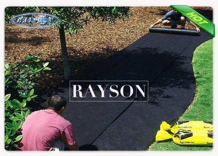 SGS Chemical Free Spunbond Non Woven Landscape Fabric For Vegetable / Flower Garden