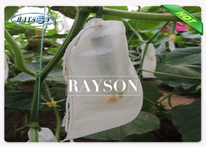 Eco Friendly Recyclable Fruit Protection Bag Heat Sealing / Drawstring with UV Treatment