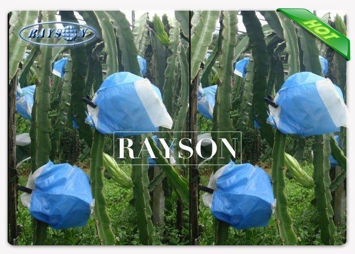 17gram White Anti UV Fruit Protection Bag For Banana / Grape / Mango Cover