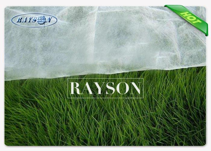 Anti-aging Garden Weed Control Fabric , 2% PP Non Woven Weed Barrier Mat