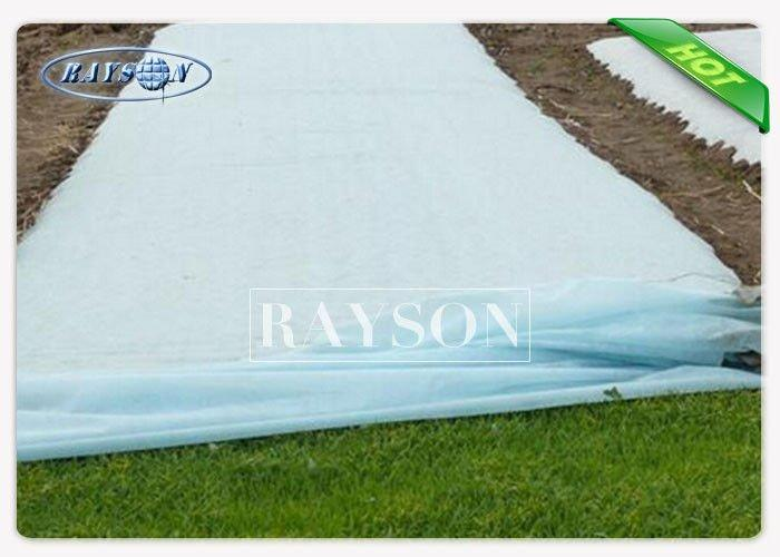 SGS Certificate Frost Protek Plant Cover / Garden Fabric for Protection and Insulation