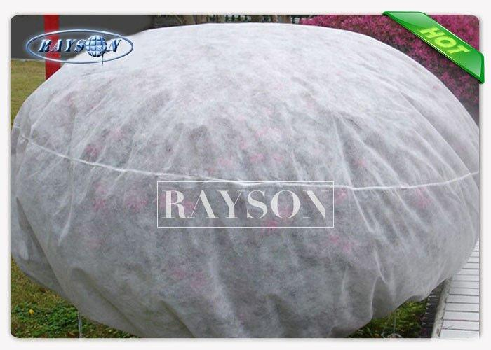 17GSM 320cm Width Frost Protection Fleece With Customer Label / Neutral Label For Tree Cover
