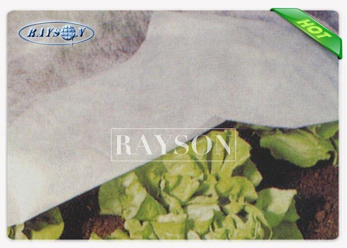 20GSM-50GSM White / Black Garden Fleece for Plants , Non Woven Fleece