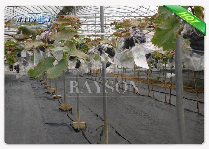 Breathable and Hydrophilic Waterproof Landscape Fabric / Agricultural Weed Mat 50grammage Thickness