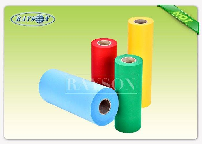 Full Antibacterial Waterproof Non Woven Fabric In Virgin Material For Healthy Care Products