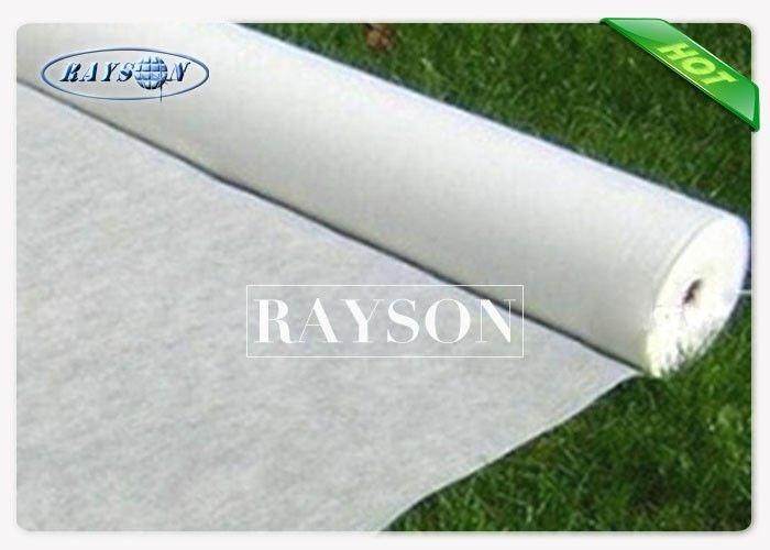 Breathable PP Spunbond Non Woven Fabric Control Kill Weeds In Garden , Biodegradable Mulch Film