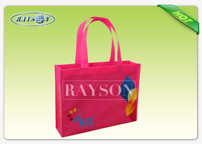 Rayson Non Woven Fabric Colorful Printing Non Woven Shopping Bag , Non Woven Polypropylene Bags PP Non Woven Bags image20