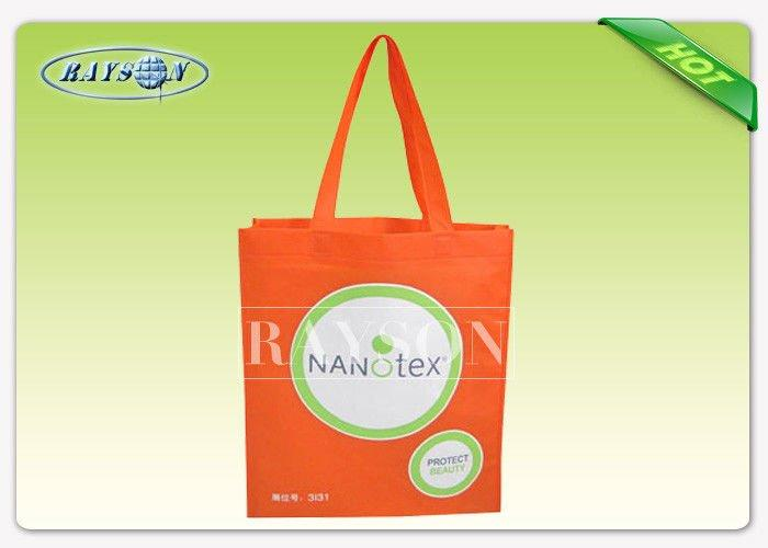Full Printing TNT Polypropylene Shopping Bags / Custom Printed Non Woven Bags
