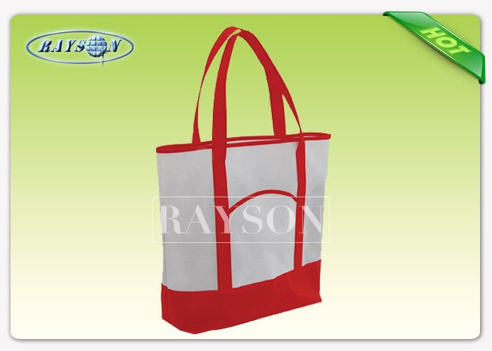 Rayson Non Woven Fabric Customized Logo PPNonwoven Bag Non Woven Promotional Bag Open Top Type With Strong Handle PP Non Woven Bags image21